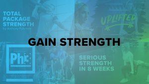 BodyFit: Plans For Gaining Strength
